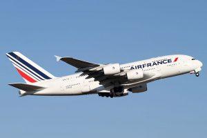Air France am Flughafen Frankfurt