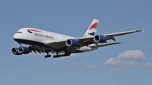 British Airways am Flughafen Friedrichshafen