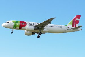 TAP Air Portugal am Flughafen Lissabon