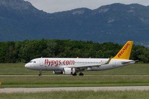 Pegasus Airlines am Flughafen Frankfurt