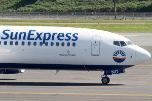 Sun Express am Flughafen Leipzig/Halle