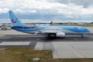 TUIfly am Flughafen Nizza