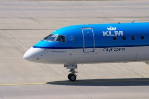 KLM Royal Dutch Airlines am Flughafen Los Angeles