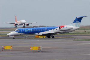 bmi regional am Flughafen Rostock