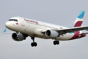 Eurowings am Flughafen London Stansted