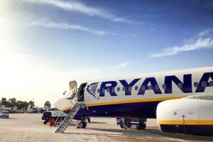 Ryanair am Flughafen Lissabon