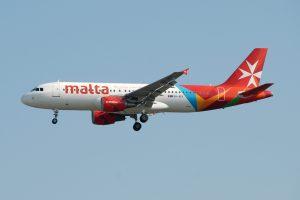 Air Malta am Flughafen Malta
