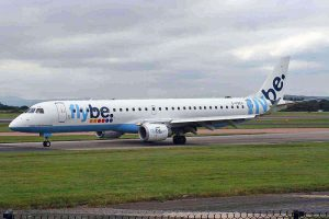 Flybe am Flughafen London Stansted