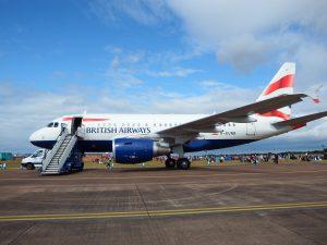 British Airways am Flughafen London Stansted