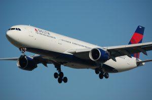 Delta Air Lines am Flughafen Miami