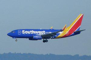 Southwest Airlines am Flughafen Las Vegas