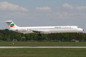 Bulgarian Air Charter am Flughafen Varna