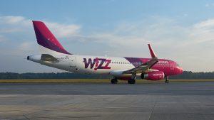 Wizz Air am Flughafen Frankfurt