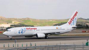 Air Europa am Flughafen Cancun