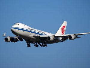 Air China am Flughafen Hamburg