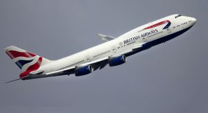 British Airways am Flughafen Hamburg