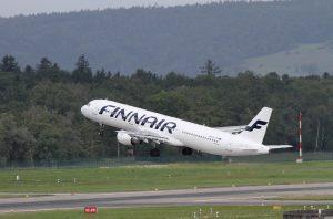 Finnair am Flughafen Hamburg