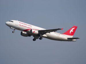 Air Arabia Maroc am Flughafen Frankfurt