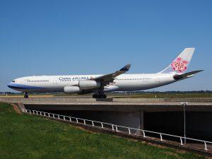 China Airlines am Flughafen Frankfurt