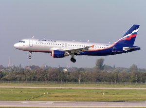 Aeroflot am Flughafen Frankfurt