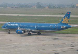 Vietnam Airlines am Flughafen Frankfurt