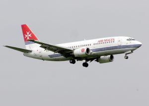 Air Malta am Flughafen Frankfurt