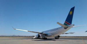 Air Namibia am Flughafen Frankfurt
