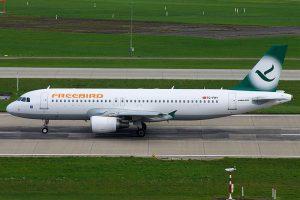 Freebird Airlines am Flughafen Frankfurt