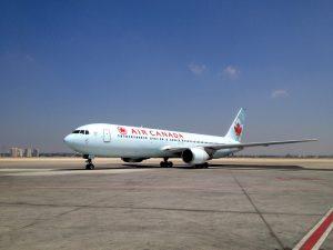 Air Canada am Flughafen Frankfurt