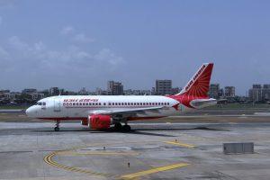 Air India am Flughafen Frankfurt