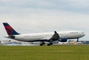 Delta Air Lines am Flughafen Frankfurt