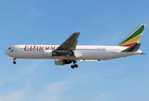 Ethiopian Airlines am Flughafen Frankfurt
