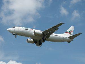 Bulgaria Air am Flughafen Frankfurt