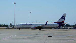 Sunexpress am Flughafen Lanzarote