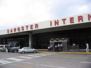 Flughafen Montego Bay auf Jamaika