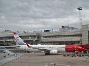 Flughafen Stockholm/Arlanda