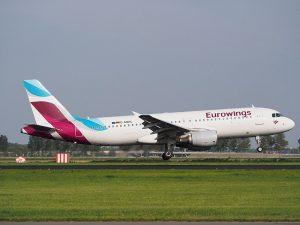 Eurowings am Flughafen Mauritius