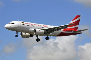 Air Mauritius am Flughafen Mauritius