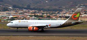 Orange2fly am Flughafen Pristina