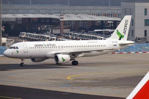Azores Airlines am Flughafen Frankfurt